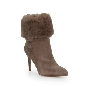 68069b5212d74 Sam Edelman Shoes - Sam Edelman Oleana Fur Stiletto Boot